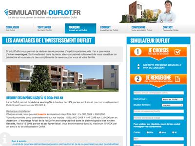 Simulation-Duflot.fr