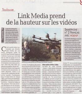 Link Media prend de la hauteur sur les vidéos